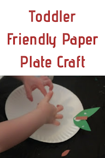 Toddler Friendly Paper Plate Craft