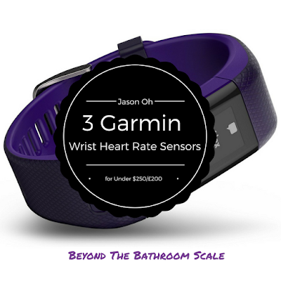 Guest Post: 3Garmin Wrist Heart Rate Sensors for Under $250/£200 by Jason Oh