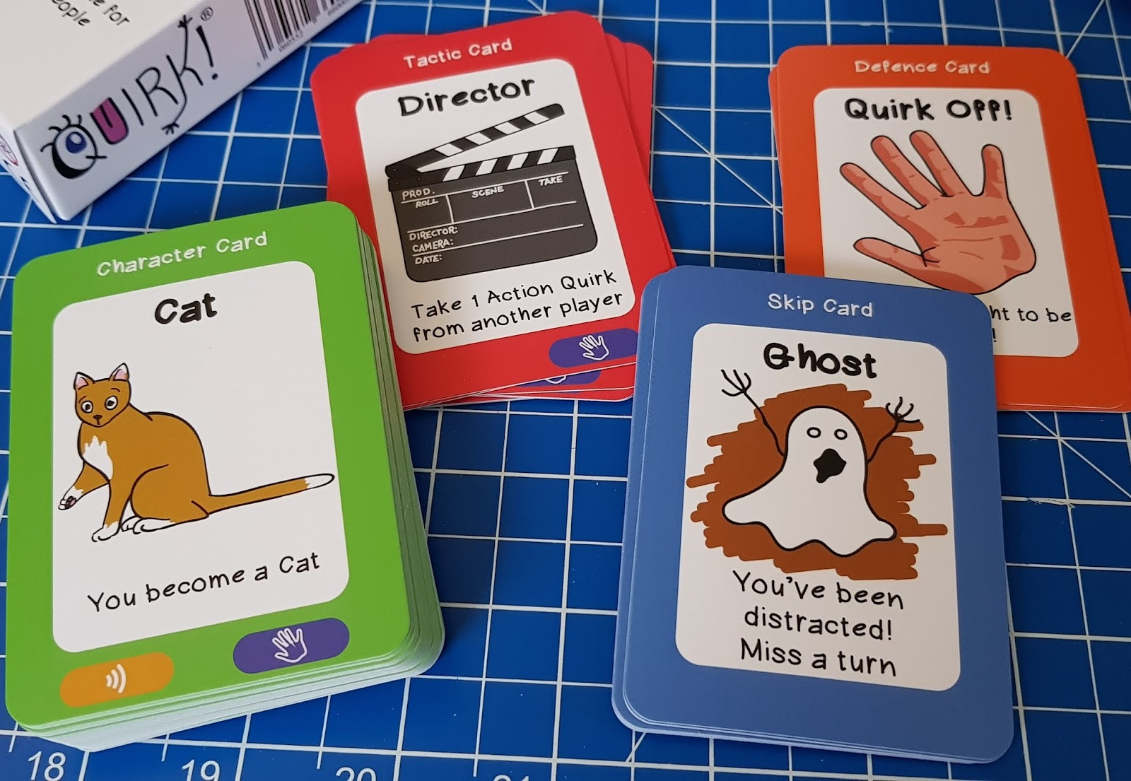 The Brick Castle: Quirk! The Family Card Game With A Difference! Age