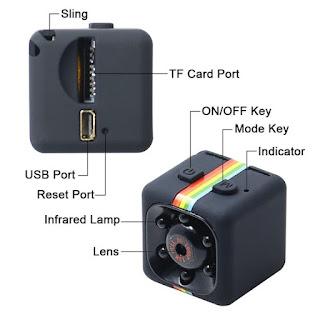 mini telecamera sq11