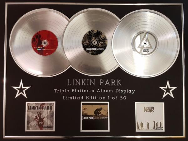linkin park ganha 11 singles de platina
