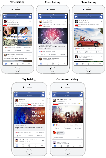 engagement-bait-facebook-votar-comentar-compartir-likes-etiquetar