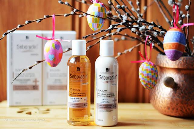 Seboradin sensitiv szampon i balsam do włosów