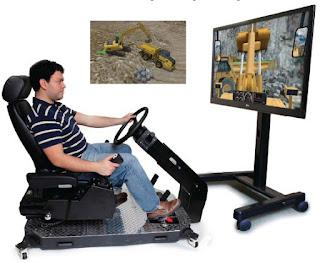 simulator excavator
