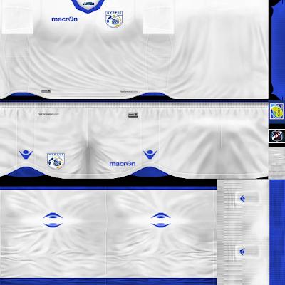 PES 6 Kits Cyprus National Team Season 2018/2019 by JeremySvr