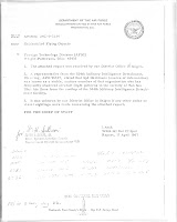 Counterintelligence Spot Report Re Saigon UFO Sighting (Pg 1) 4-17-1967