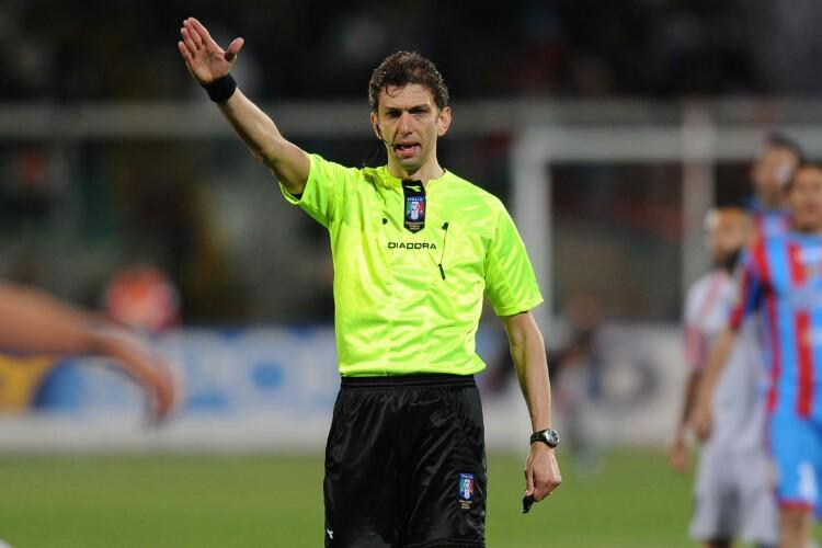 Paolo Tagliavento, arbitrerà Inter-Roma
