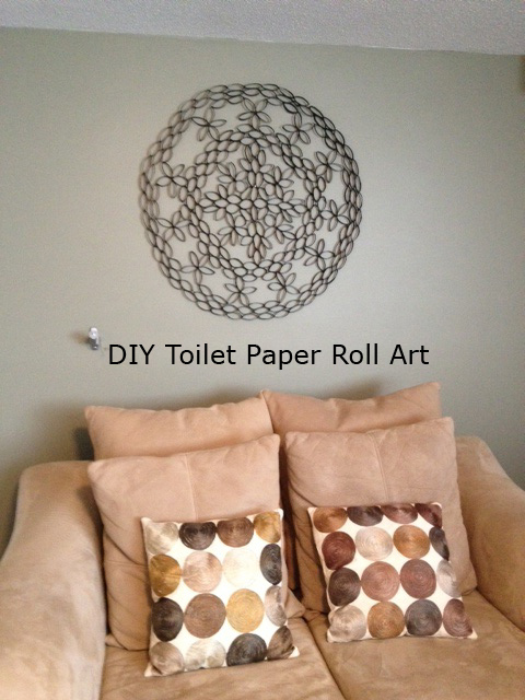 Ideal Half-Assed Crafter: DIY: Toilet Paper Roll Art EG06