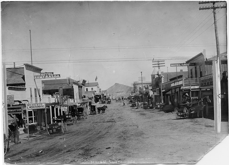 Rhyolite And Goldfield Nevada The Gold Mining Boom Towns