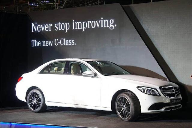 Mercedes Benz C-Class 2019 phiên bản nâng cấp đáng giá