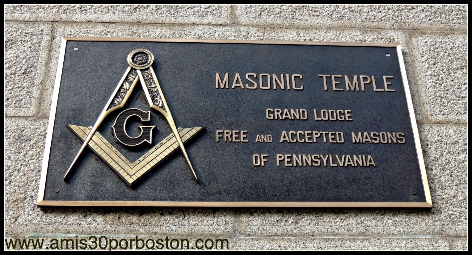 Filadelfia: Templo Masónico