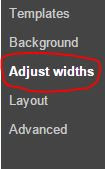 How to edit advanced options in window.
