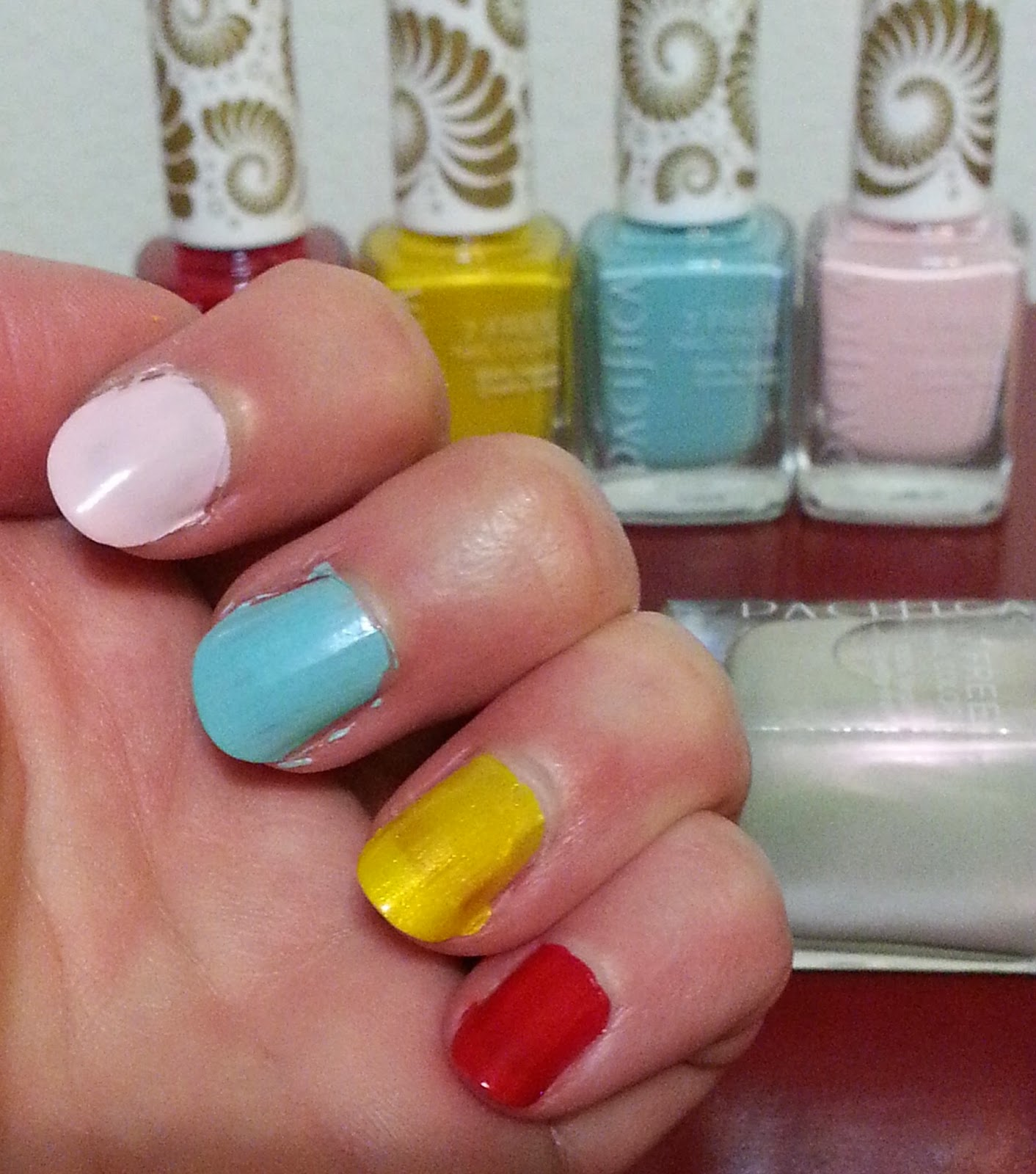 The Natural Health And Beauty Hunt Cell Swatches Pacifica 7 Free Nail Polish