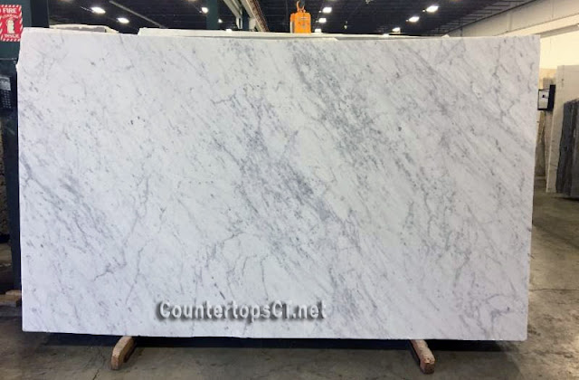 Carrara honed 5cm