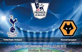 Prediksi Tottenham Hotspur VS Wolverhampton 29 Desember 2018