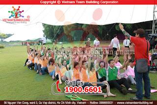 MARK - Trò chơi team building hay nhất tại Đà Nẵng