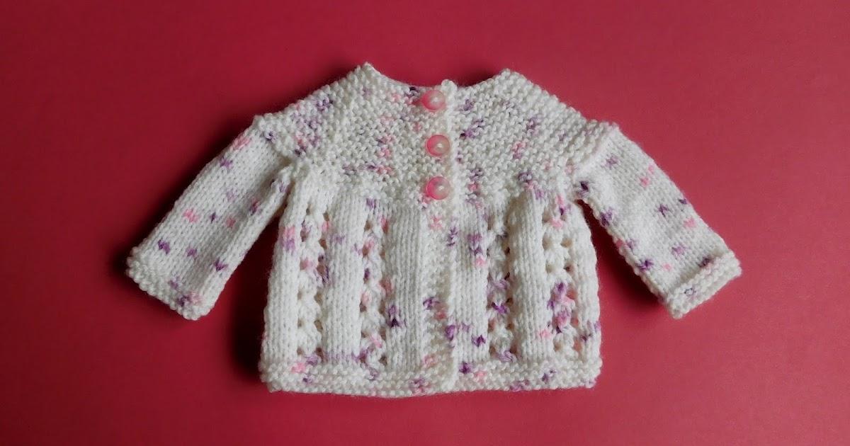 Knitting Yfwd Sl1 : Marianna s lazy daisy days little bella baby jacket