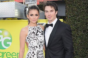 Ian Somerhalder and Nina Dobrev parted