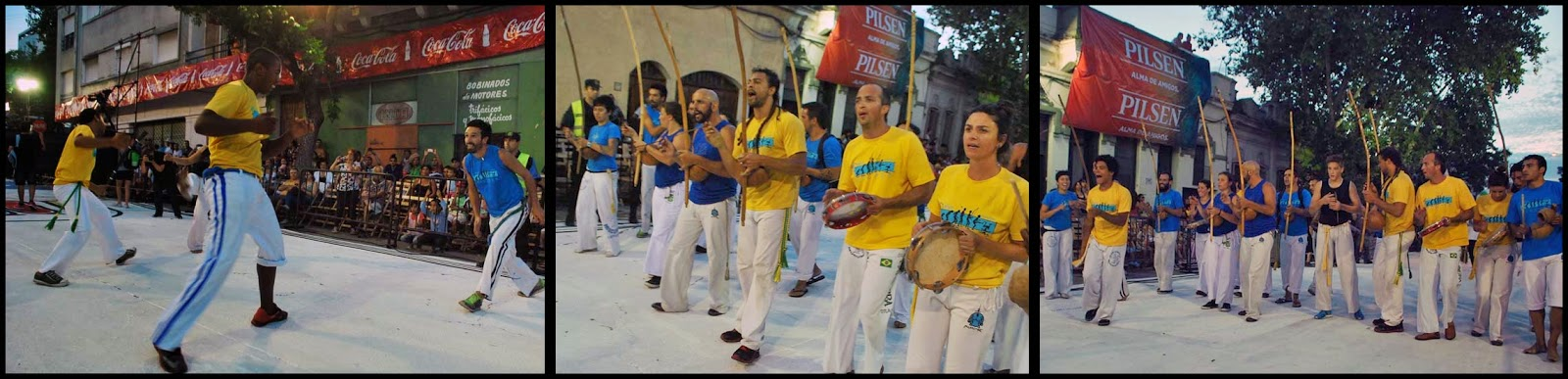 Desfile de Llamadas. Capoeira Mucumbé.