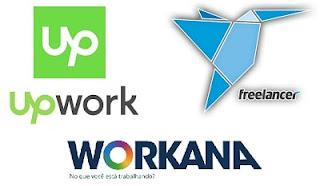 Ganhar Dinheiro online com Freelancer, Upwork e Workana