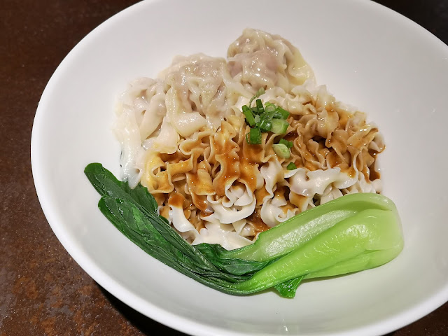 sesame noodles with wanton