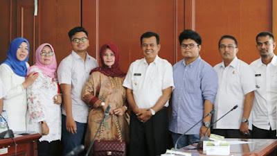 Wali Kota Pariaman, Mukhlis Rahman Menyambut Baik dan Optimis Rencana Pembangunan Destinasi Wisata oleh Investor JM Water Park