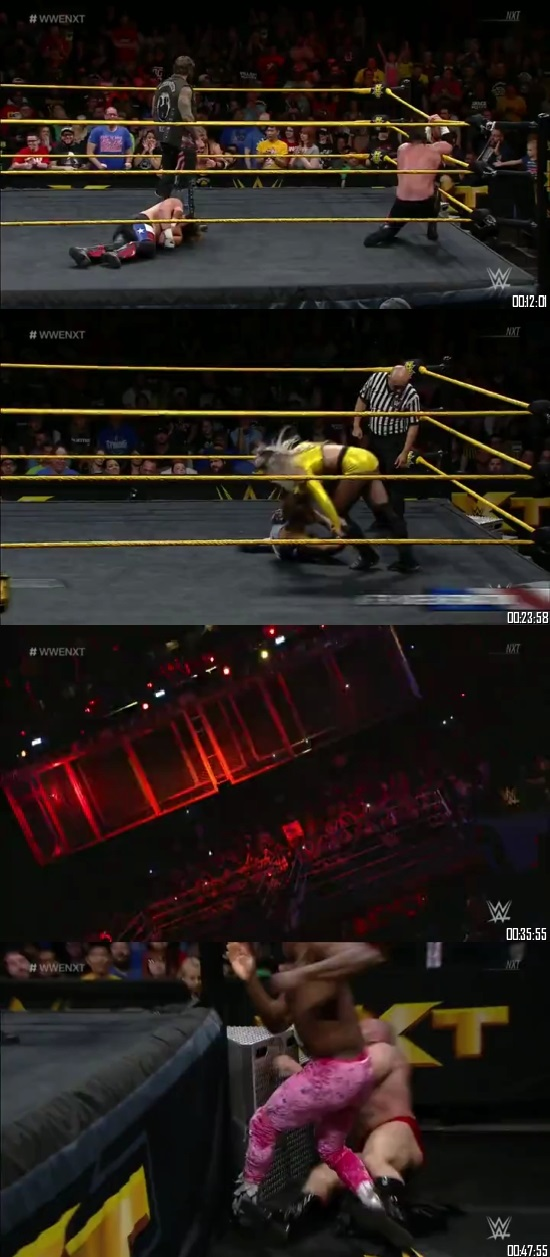 Screen Shot Of WWE NXT 7th November 2018 HDTV 480P 300MB