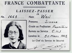 Simone Weil o la solidaridad radical, Tomás Moreno