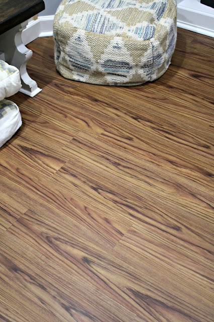 Allure vinyl flooring in Teak