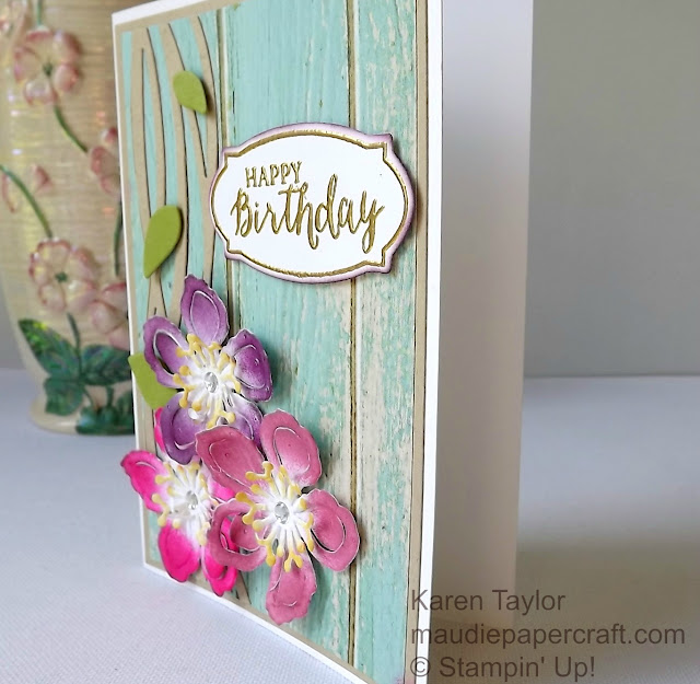 Stampin' Up! Botanical Builders and Swirly Scribbles birthday card