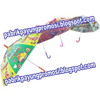 Payung Handle J Anak Karakter