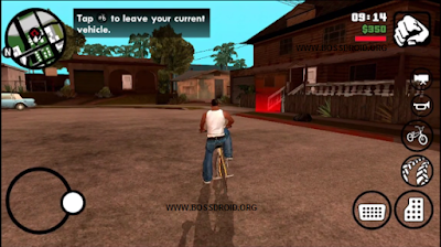 Download GTA SA Lite Full HD Apk + Data + OBB