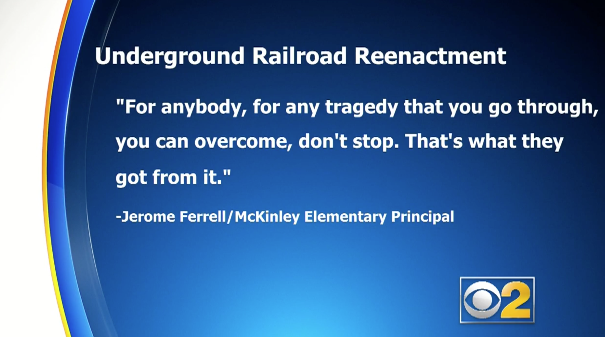 Student Traumatized After Underground Railroad Reenactment
