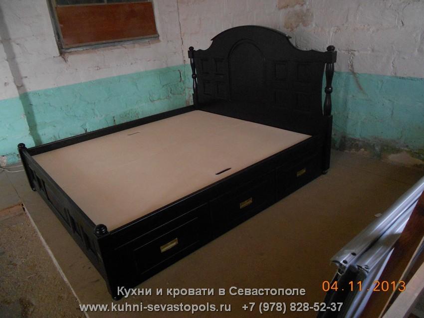 Кровать двуспальная Севастополь