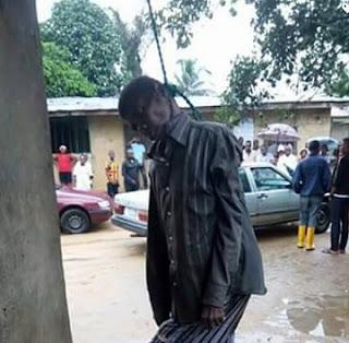 BREAKING: American Hangs Self To Death In Lagos Hotel