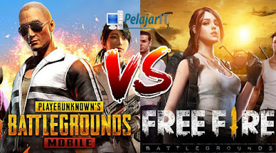 Perbandingan Pubg Vs Free Fire
