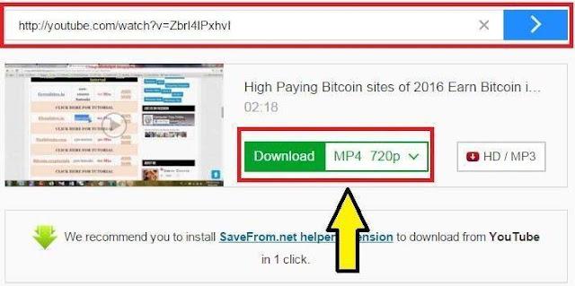 Format Select Karke Download Pe Click Kare