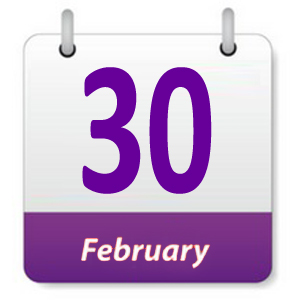 30 Februari 2019