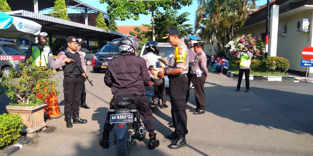 Polisi juga Dirazia pada Operasi Keselamatan Lalulintas di Kebumen