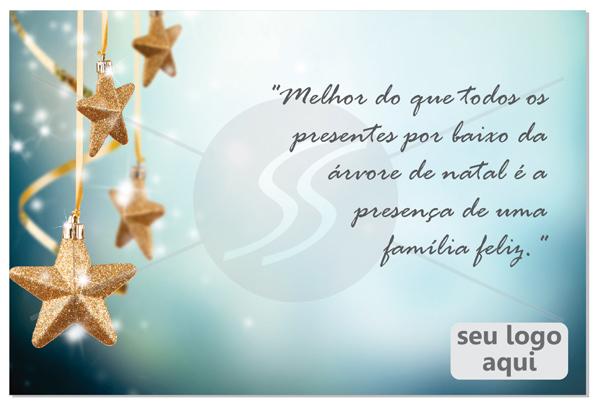 cartao de natal estrelas - Cartão de Natal uma tradição duradoura