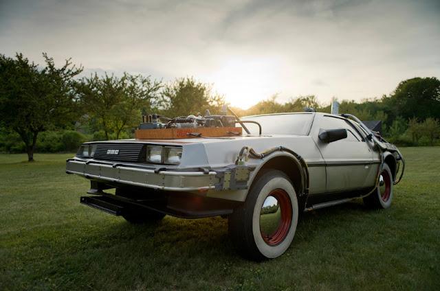 DeLorean из Back to the Future III был выставлен на аукцион