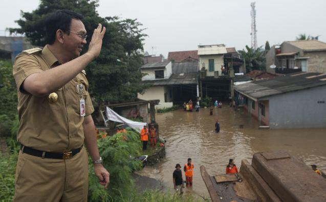 Ahok Sebut Opini Anies Soal Banjir Hanya untuk Kampanye
