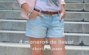 4 maneras de llevar shorts tejanos