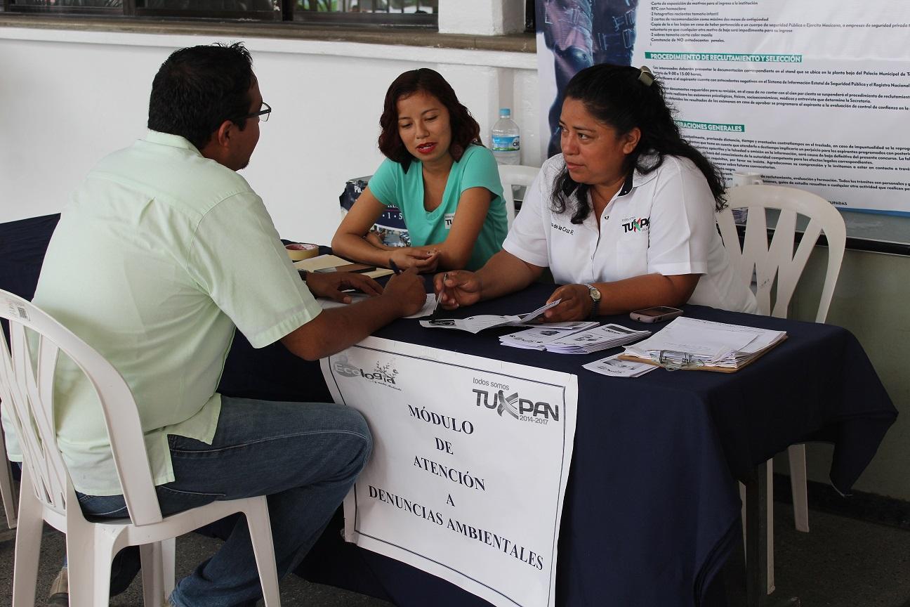 Recuentos De Veracruz En Tuxpan Instalan Módulo De Atención