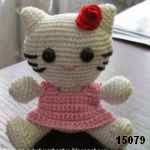 patron gratis hello kitty amigurumi, free amigurumi pattern hello kitty