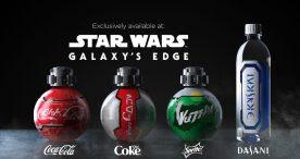Star Wars Galaxy's Edge Coke Products