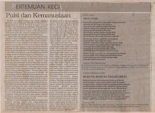 Puisi Pikiran Rakyat