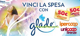 Logo Con Glade vinci 80 buoni spesa da 50 euro ciascuno
