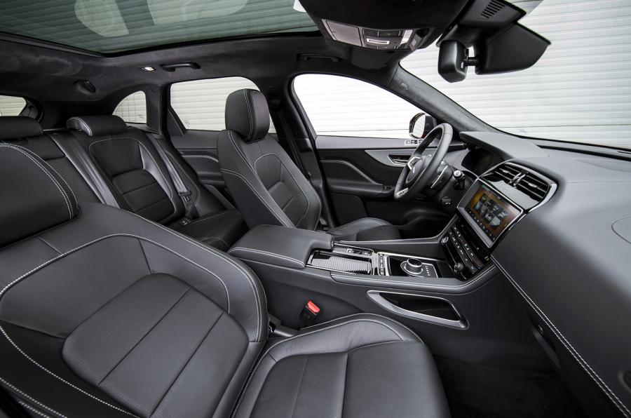 2016 Jaguar F Pace Interior