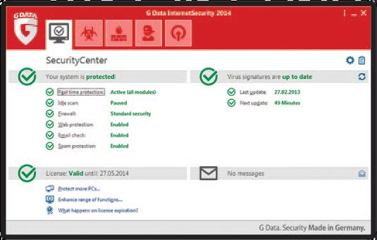 G Data Internet Security 2014 + Download Link